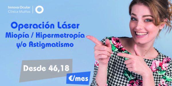 Operación Láser de Miopía Hipermetropía y/o Astigmatismo