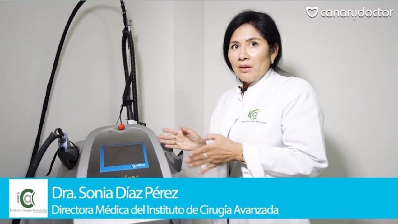 Láser Affirm Dra. Sonia Díaz ICA