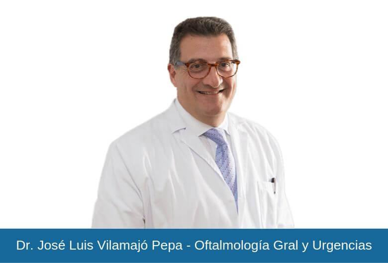 Dr. José Luis Vilamajó Pepa - Oftalmología Gral y Urgencias - Vithas Eurocanarias