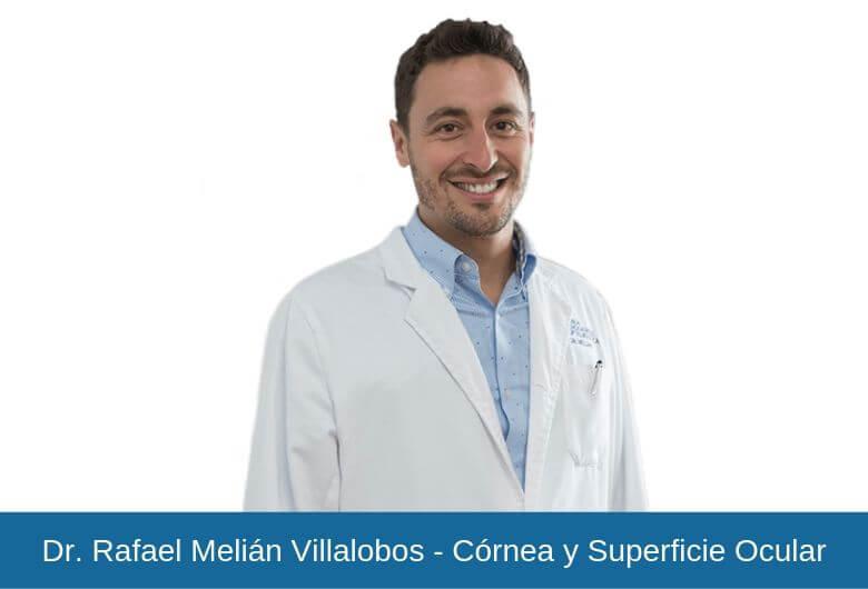 Dr. Rafael Melián Villalobos -Córnea y Superficie Ocular - Vithas Eurocanarias
