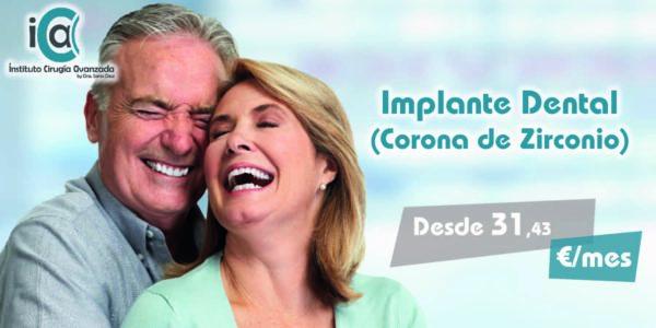 Implantes Dentales con Corona de Zirconio