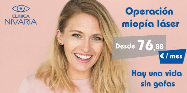 Operación Miopía con Láser LASIK