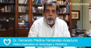 Dr Aceytuno consulta ginecológica en las palmas
