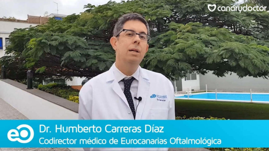 intraocular lens las palmas Humberto Carreras