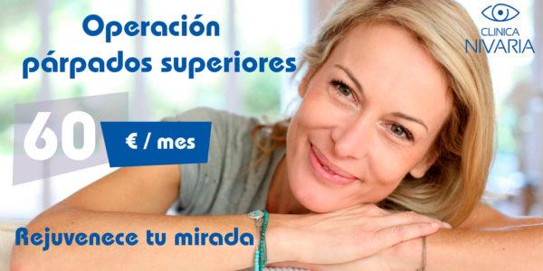 Blefaroplastia superior - Operación párpados superiores Tenerife - Clínica Nivaria